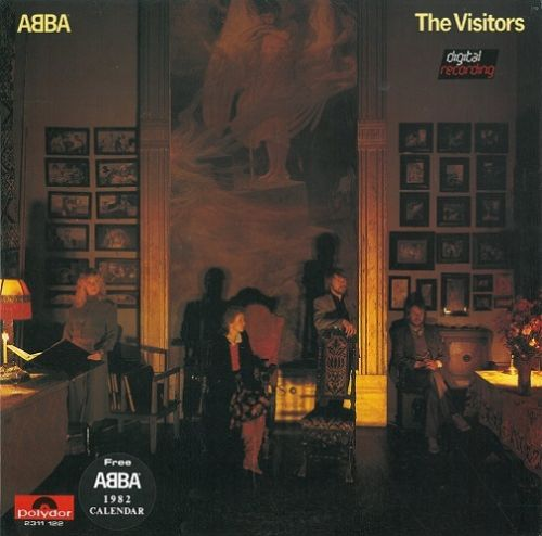 ABBA The Visitors Vinyl Record LP Malaysian Polydor 1981